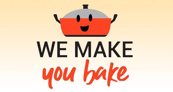 We Make You Bake Logo
